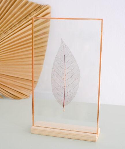 scalet leaf copper frame çerçeve
